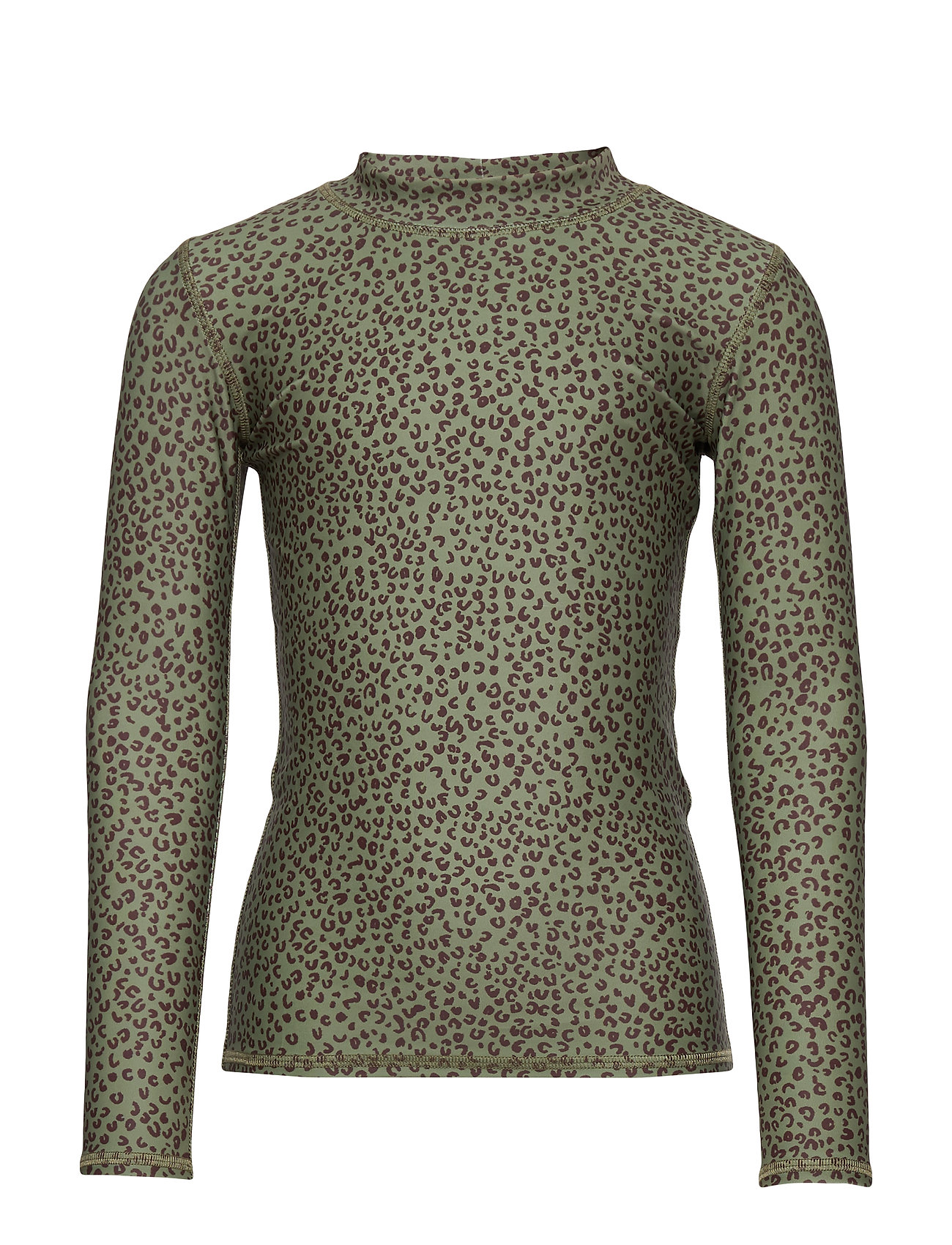 Soft Gallery Astin Sun Shirt - OIL GREEN, AOP LEOSPOT