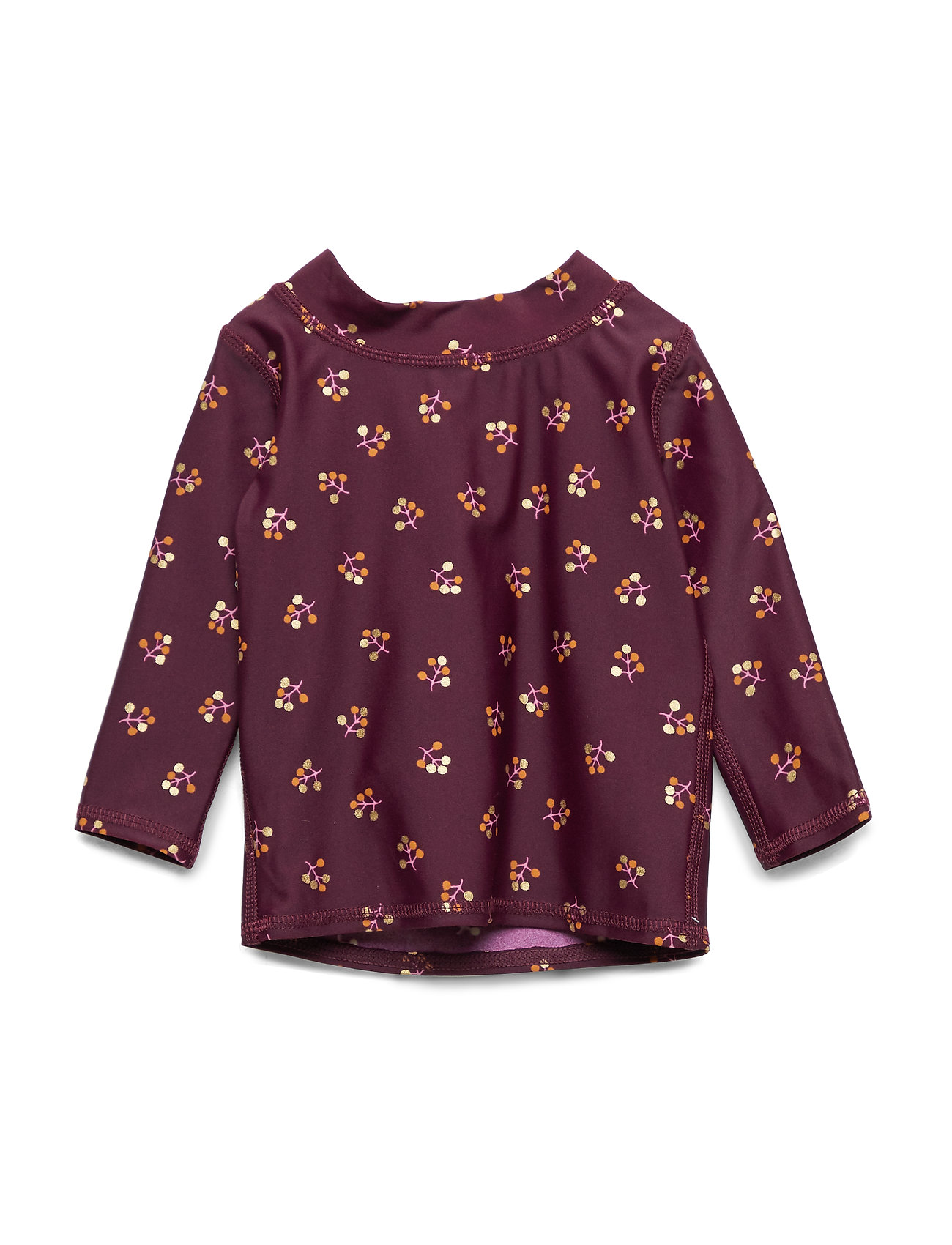 Soft Gallery Baby Astin Sun Shirt - FIG, AOP WINTERBERRY SMALL