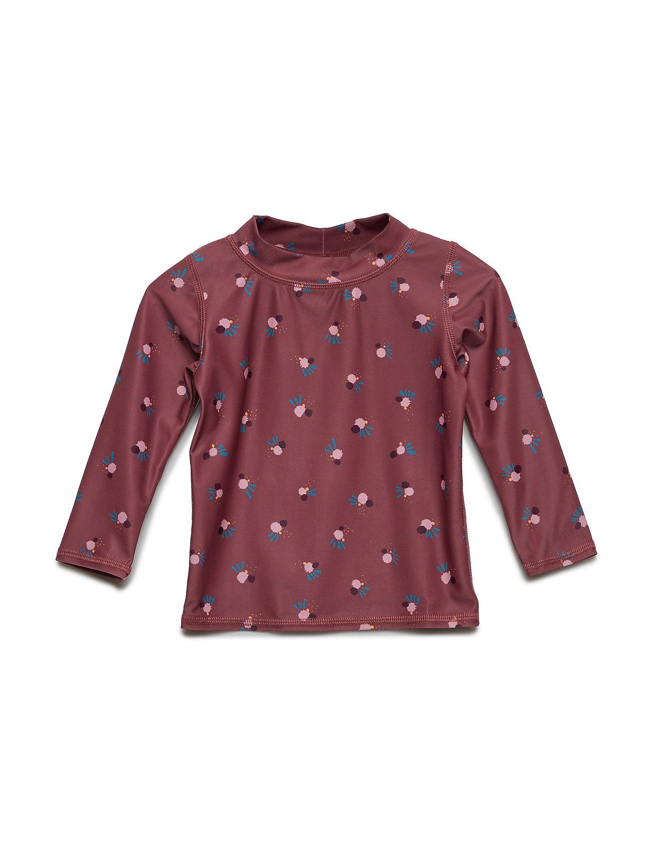 Soft Gallery Baby Astin Sun Shirt - RENAISSANCE ROSE, AOP COCKATOO SWIM