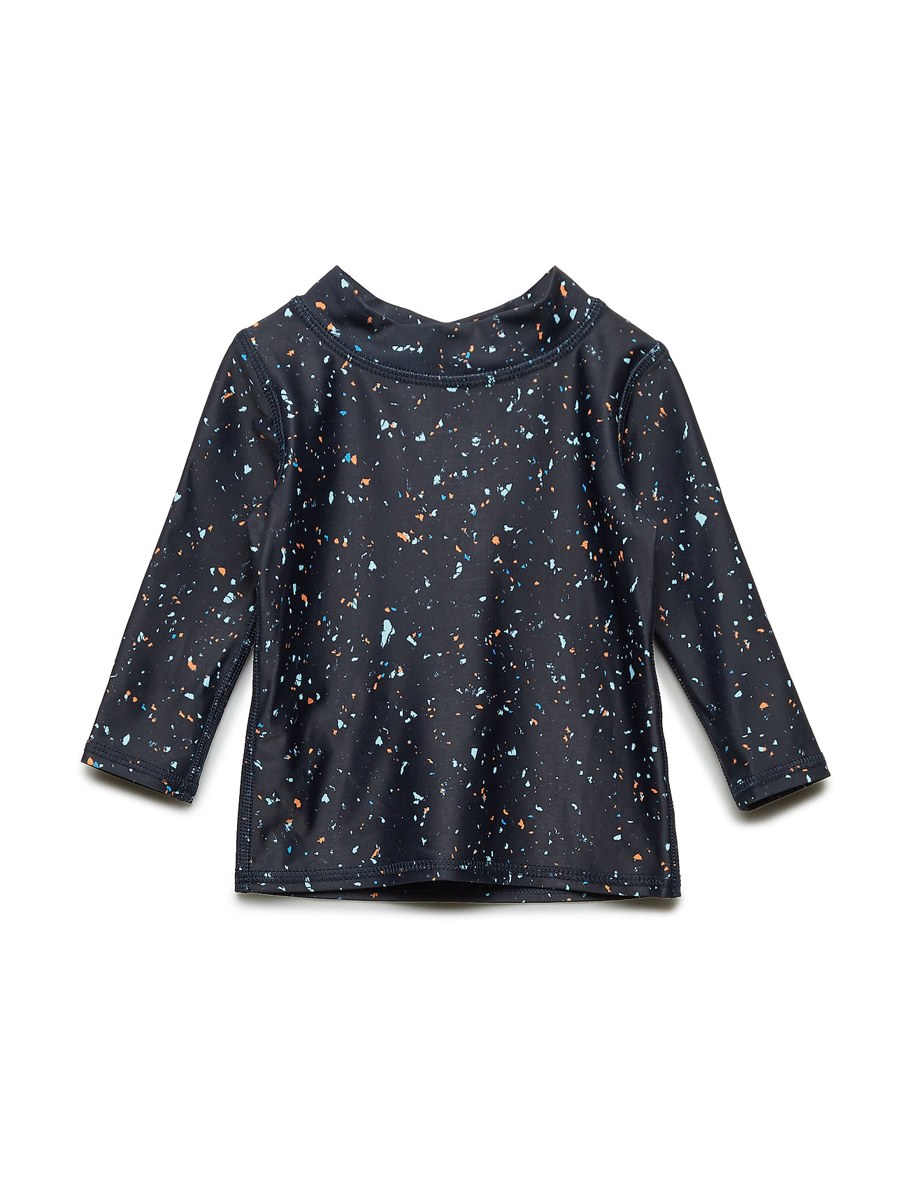 Soft Gallery Baby Astin Sun Shirt - INDIA INK, AOP FLAKES MIX