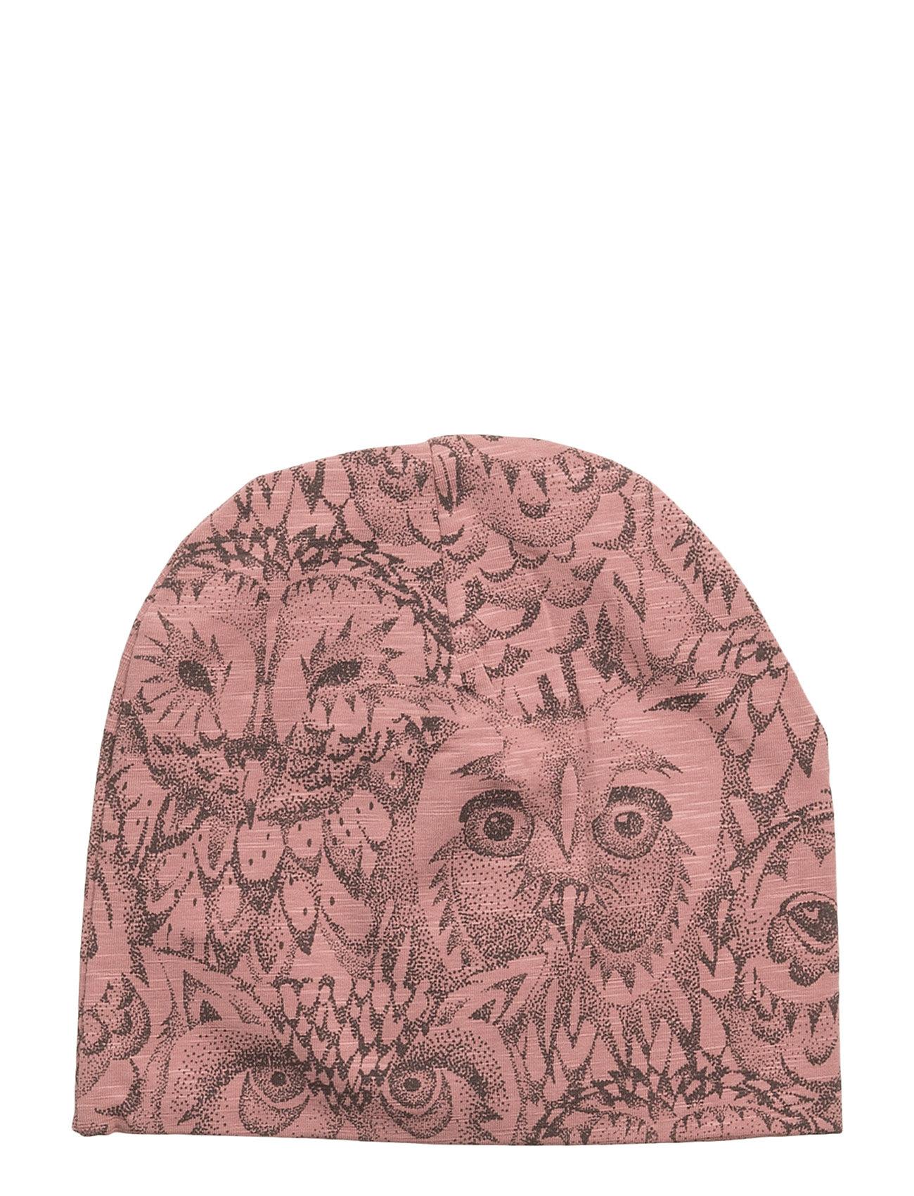 Soft Gallery Beanie - BURLWOOD, AOP OWL