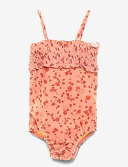 Soft Gallery - Baby Gracia Swimsuit - swimsuits - rose dawn, aop flowery s - 1