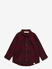 Soft Gallery - Baby Severin Shirt - chemises - syrah overdye - 0