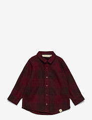 Soft Gallery - Baby Severin Shirt - overhemden - syrah overdye - 0