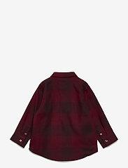 Soft Gallery - Baby Severin Shirt - chemises - syrah overdye - 1