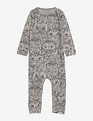 Soft Gallery - SGBen Bodysuit - NOOS - langärmelig - drizzle, aop owl - 0