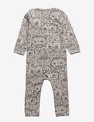 Soft Gallery - SGBen Bodysuit - NOOS - langärmelig - drizzle, aop owl - 1