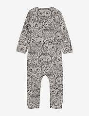 Soft Gallery - SGBen Bodysuit - NOOS - langärmelig - drizzle, aop owl - 2