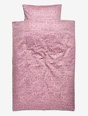 Soft Gallery - Bed Linen Baby - pościel - mauve shadows, aop owl lavender - 0