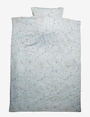 Soft Gallery - Bed Linen Adult - pościel - ocean grey, aop mini splash blue - 0