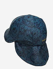 Soft Gallery - Alex Sun Hat - czapka uv - orion blue, aop owl - 1