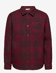 Soft Gallery - Bentley Shirt - overhemden - syrah overdye - 0