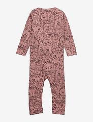 Soft Gallery - SGBen Bodysuit - NOOS - langärmelig - burlwood, aop owl - 2