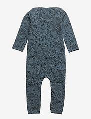 Soft Gallery - SGBen Bodysuit - NOOS - langärmelig - orion blue, aop owl - 1