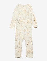 Soft Gallery - Ben Bodysuit - langärmelig - fluffy sky, aop mini splash cream - 0