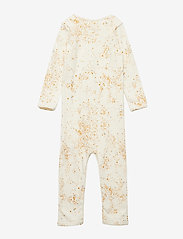 Soft Gallery - Ben Bodysuit - langärmelig - fluffy sky, aop mini splash cream - 1