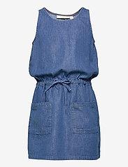 Soft Gallery - Darla Dress - kleider - denim blue - 0