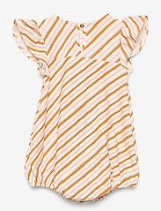 Soft Gallery - Heliana Jumpsuit - kurzärmelige - gardenia, aop sway - 1