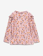 Soft Gallery - Baby Fee Sun Shirt - koszulki - dawn pink, aop buttercup s - 1