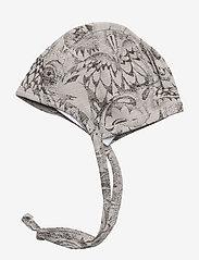 Soft Gallery - SGHattie - hatte og handsker - drizzle, aop owl - 1