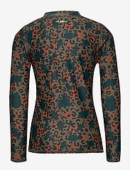 Soft Gallery - Astin Sun Shirt - koszulki - fossil, aop camoleo swim - 1