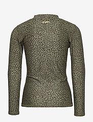 Soft Gallery - Astin Sun Shirt - koszulki - oil green, aop leospot - 1