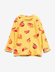 Soft Gallery - Baby Astin Sun Shirt - koszulki - jojoba, aop oranges - 0