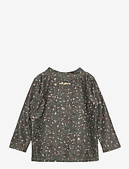 Soft Gallery - Baby Astin Sun Shirt - koszulki - deep liche, aop terra - 1