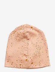 Soft Gallery - Beanie - hatte og handsker - peach perfect, aop mini splash rose - 1