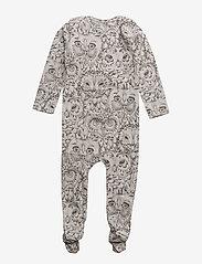 Soft Gallery - Nat Bodysuit - langärmelig - drizzle, aop owl - 1
