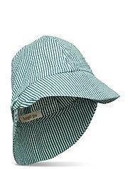 Huxi Hat - GARDENIA, AOP SEERSUCKER STRIPE