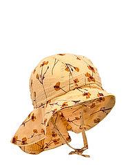 Val Hat - GOLDEN APRICOT, AOP BUTTERCUP