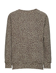 Chaz Sweatshirt - SHADOW, AOP LEOSPOT