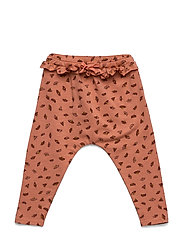 Cami Pants - TAWNY ORANGE, AOP CAMOMILE S