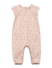 Abigail Jumpsuit - CHINTZ ROSE, AOP COCKATOO