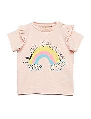 Sif T-shirt - CHINTZ ROSE, RAINBOW