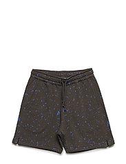 Alisdair Shorts - PEAT, AOP FLAKES BLUE