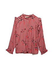Tilde Shirt - OLD ROSE, AOP SAKURA