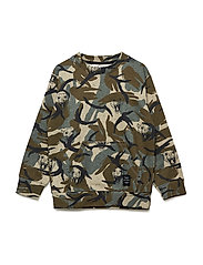 Konrad Sweatshirt - CROCKERY, AOP TIGERARMY