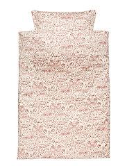 Bed Linen Adult - CREAM, AOP OWL MAHOGANY