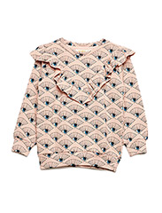 Betsy Sweatshirt - ROSE CLOUD, AOP EYEFAN