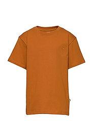 Asger T-shirt - PUMPKIN SPICE, MINI OWL EMB.