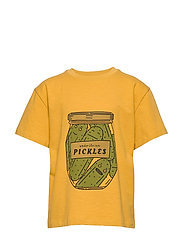 Asger T-shirt - NARCISSUS, PICKLES