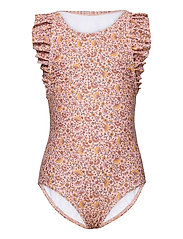 Ana Swimsuit - MISTY ROSE, AOP FLOWER SWIM