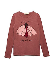 Beverly LS T-Shirt - WITHERED ROSE, MOTHDOT