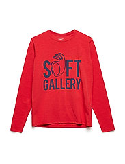 Belami LS T-Shirt - MARS RED, SOFT HAND