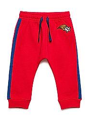 Belia Pants - MARS RED, WISH EMB.