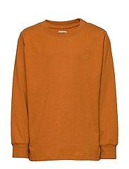 Benson T-shirt - PUMPKIN SPICE, MINI OWL EMB.