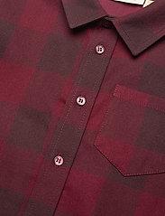 Soft Gallery - Bentley Shirt - overhemden - syrah overdye - 2