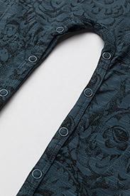 Soft Gallery - SGBen Bodysuit - NOOS - langärmelig - orion blue, aop owl - 4